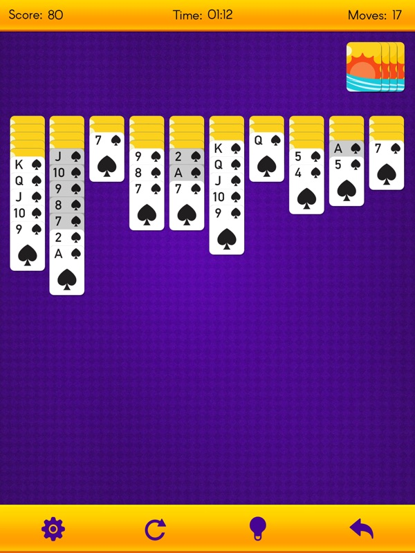 Spider Solitaire - Classic Spider Card Game - Online Game