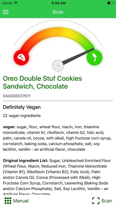 Is It Vegan? + Screenshot