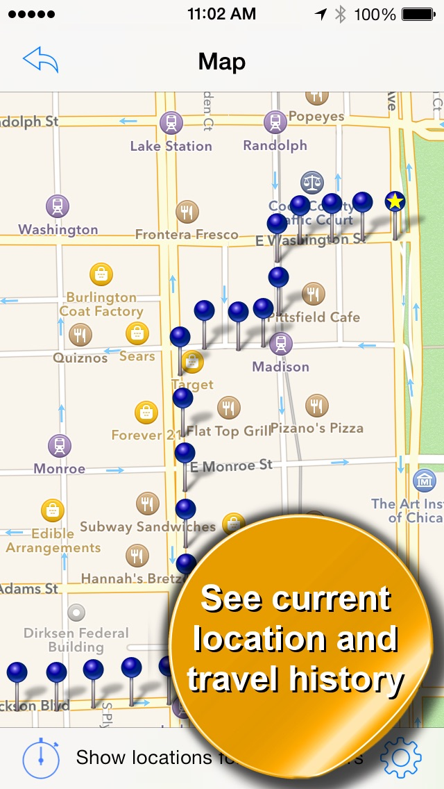 Phone Tracker for iPhones: GPS Screenshot