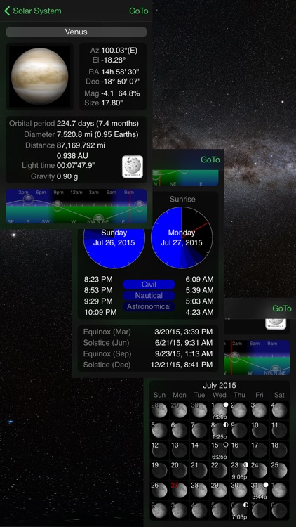 GoSkyWatch Planetarium - Astronomy Night Sky Guide screenshot-3