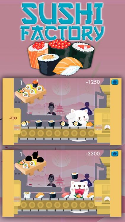 Cat 's sushi factory game screenshot-4