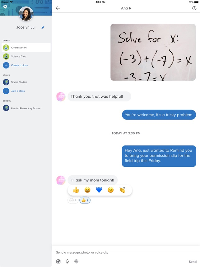 remind school communication on the app store