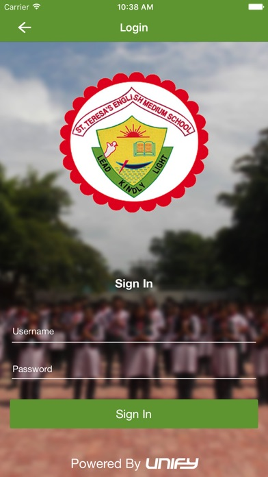 St. Teresa's School Screenshot