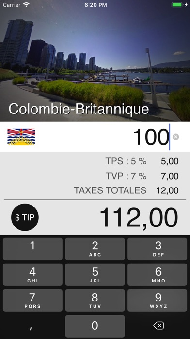 download Taxes de Vente au Canada apps 1