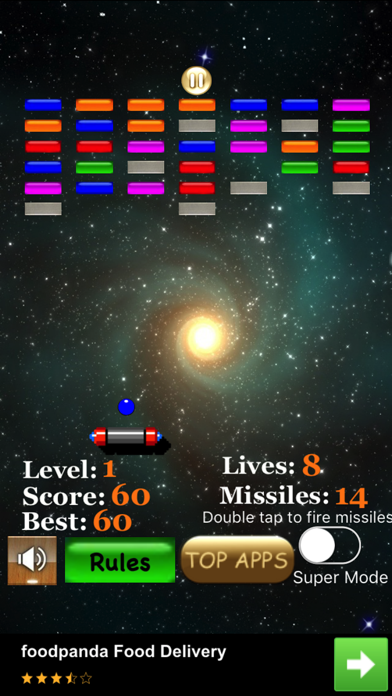 Bricks Arkanoid screenshot 5