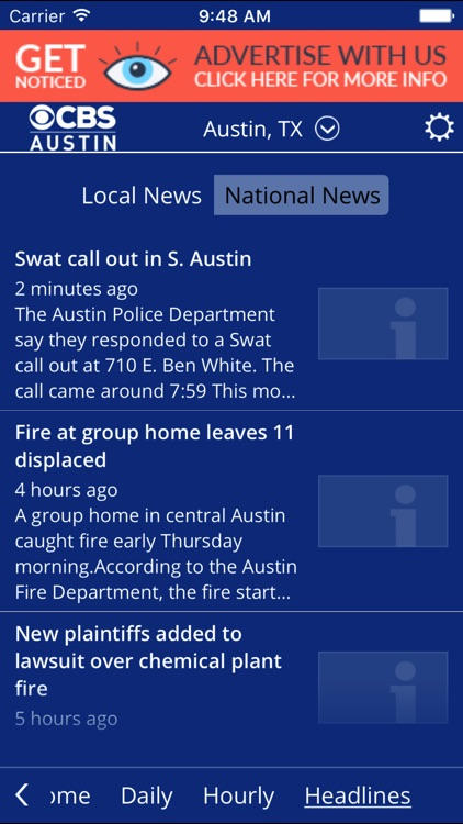 CBS Austin WX screenshot-3