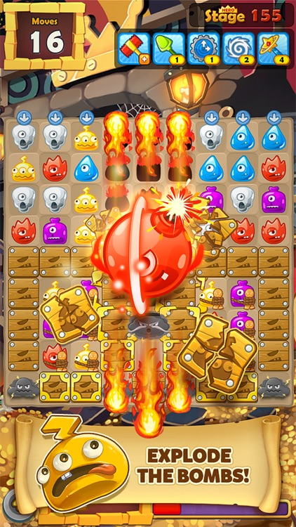 Monster Busters:Match 3 Puzzle screenshot-0
