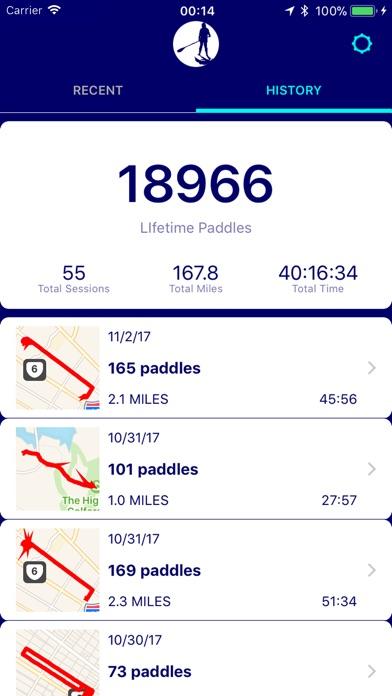 Paddlz: Fitness Paddl... screenshot1