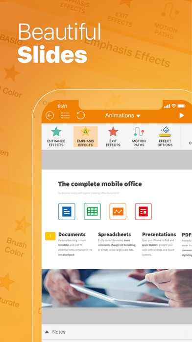Screenshot #9 for OfficeSuite PRO Mobile Office