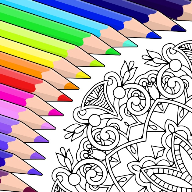 Colorfy Colouring Book On The App Store Coloring Book