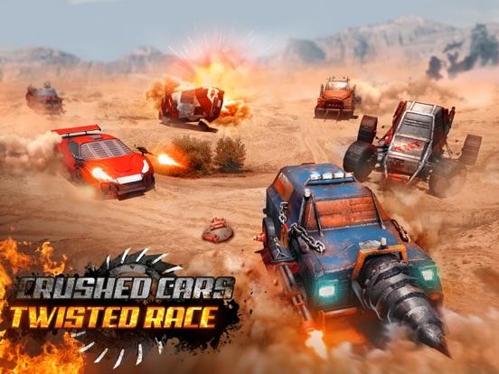 Разбитые тачки 3D-Twisted Race на iPad