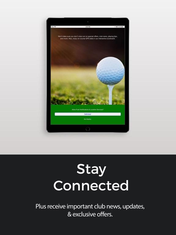 ASM Golf App-ipad-2