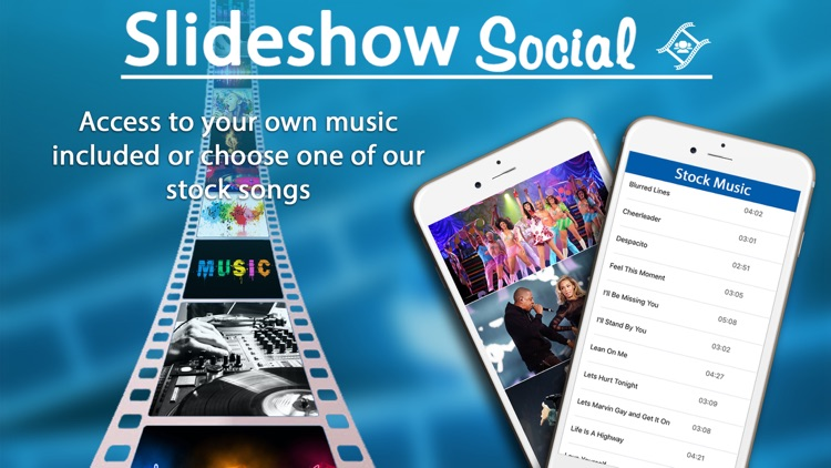 Slideshow Social - With Music