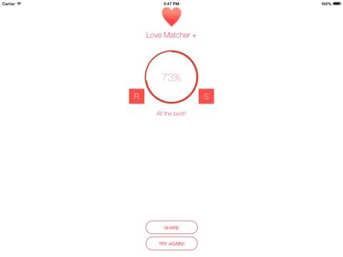 Love Matcher + - náhled