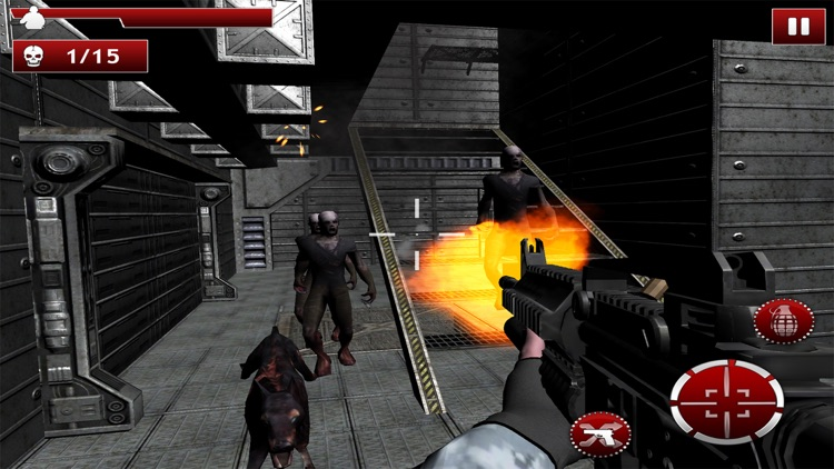 Zombie Frontier Assault: Top FPS Gun Shooting Game screenshot-4