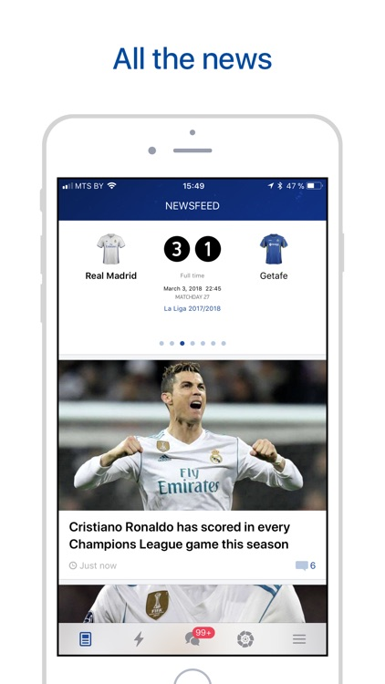 Real Live — Goals & News screenshot-0