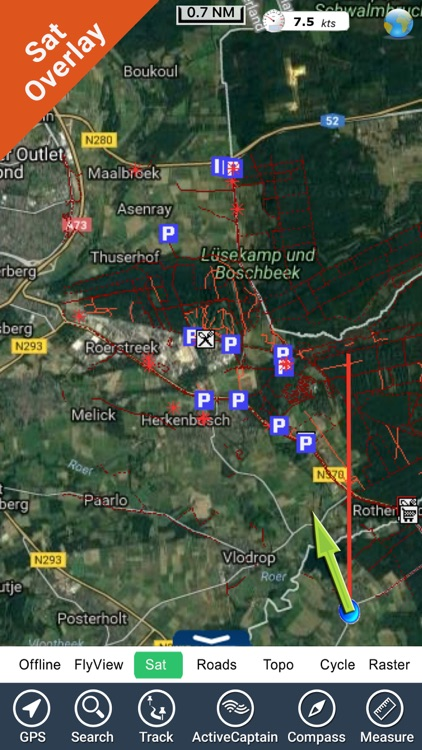 Meinweg National Park GPS and outdoor map