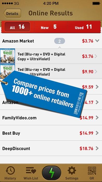 Quick Scan - Barcode Scanner & Best Shopping Companion Screenshot 3