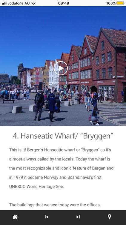 Bergen Tour App