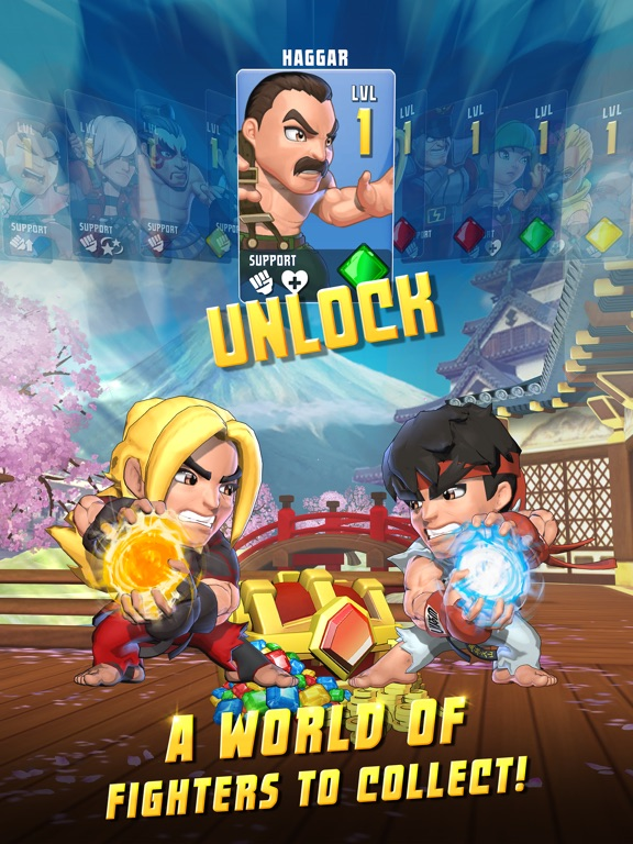 Puzzle Fighter screenshot #2