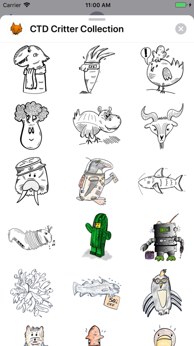CTD Critter Collection