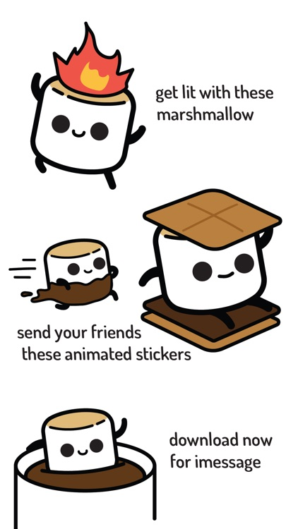 Mellow Marshmallow Stickers