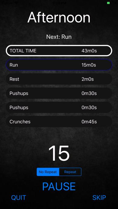 My Workout Manager screenshot #3
