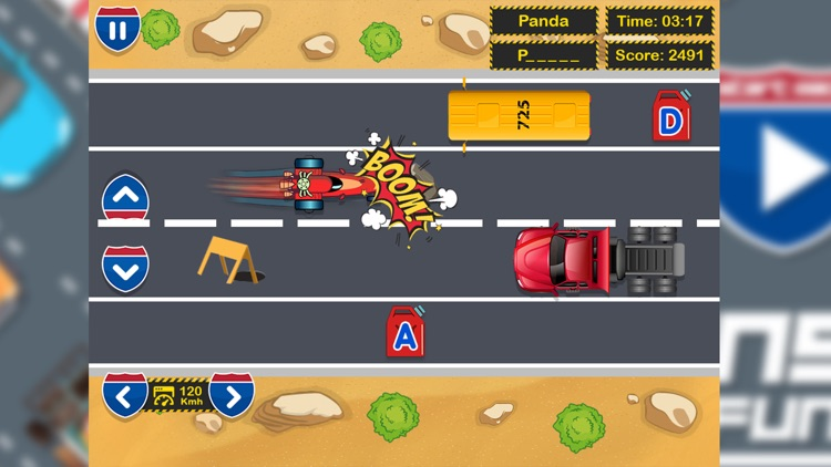 Car Racing Spelling Fun screenshot-5