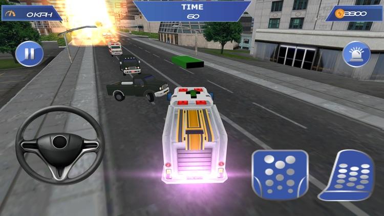 Fireman 911 Rescue Fire Truck screenshot-3