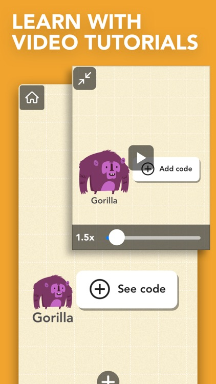 Hopscotch: Coding for kids screenshot-1