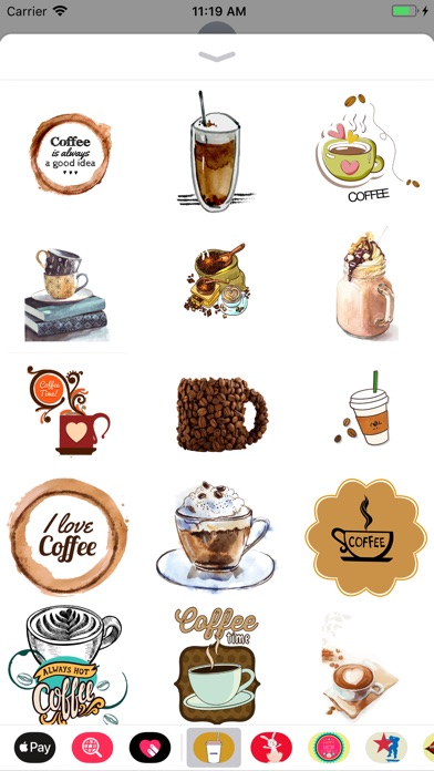 download Coffee Lovers Stickers apps 1