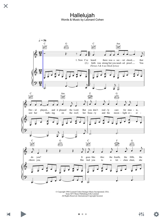 Piano i see the light piano sheet music : SheetMusicDirect.com on the App Store