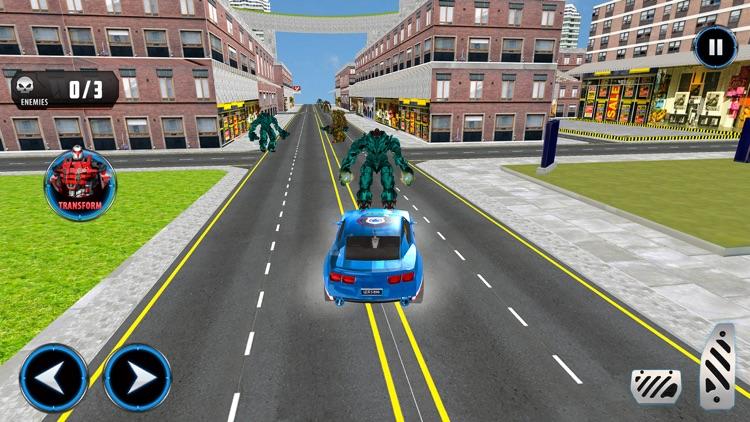 Police Car Robot Transform