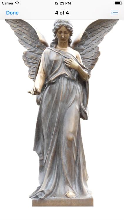 Angel Statue Stickers screenshot-9