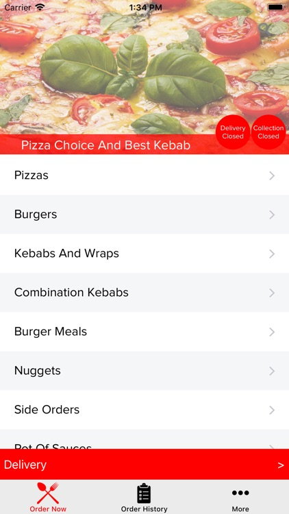 Pizza Choice And Best Kebab By Johnson Siril