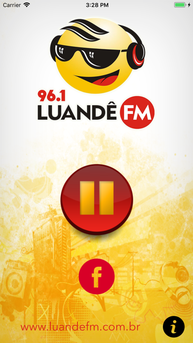 Rádio Luandê screenshot two