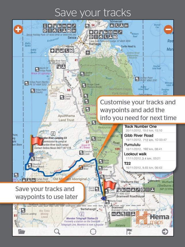 Western Australia 4wd Map.4wd Maps Offline Topo Maps