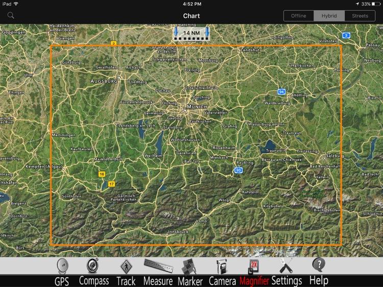 Bavaria Lakes GPS Charts Pro screenshot-4
