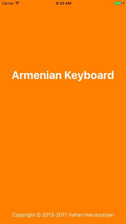Armenian Keyboard (original)