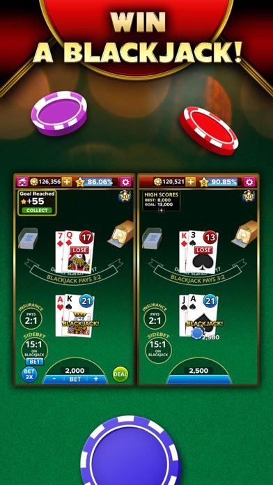Blackjack 21 - Platinum Player screenshot 3