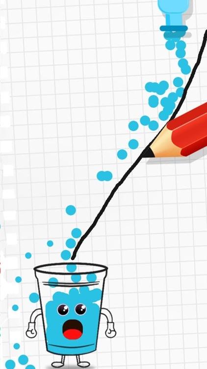 Happy Glass Draw Line screenshot-3