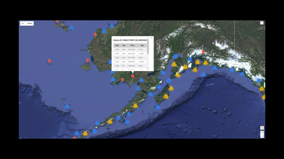 Alaska Tide Tables Screenshot