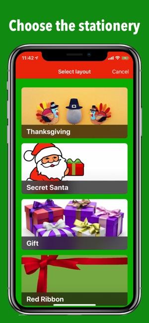 Secret Santa Gift Exchange On The App Store