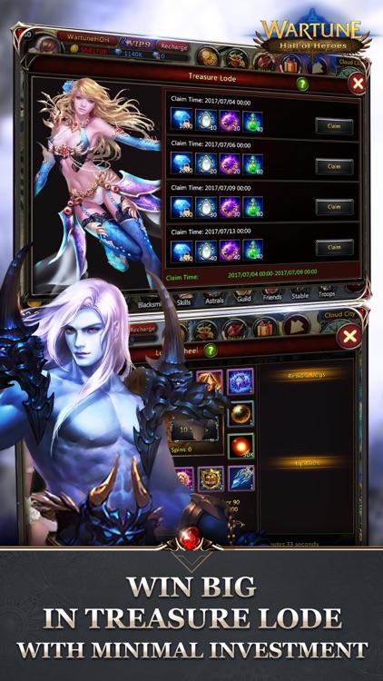 Wartune: Hall of Heroes screenshot-4
