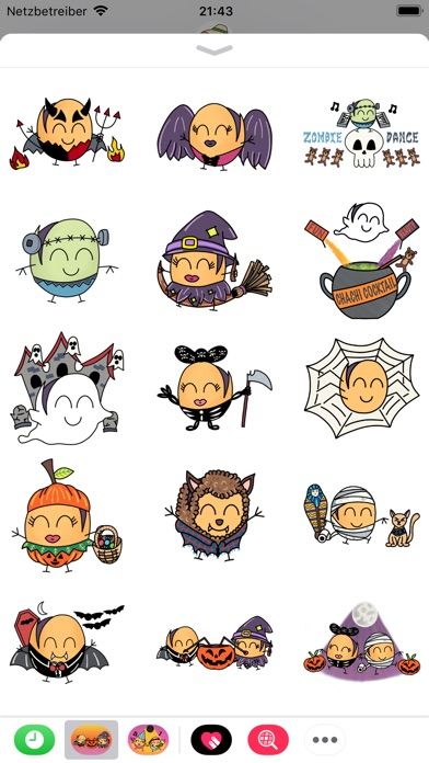 Paquitos Stickers: HalloweenScreenshot von 4
