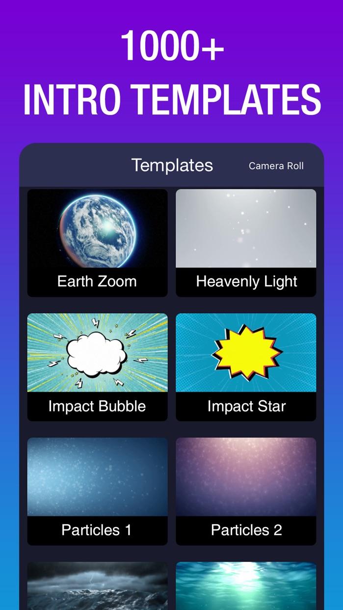 Intro Maker: Outro Creator Screenshot