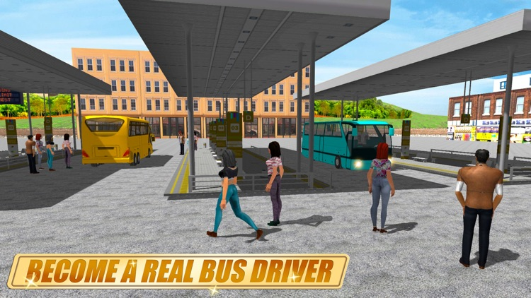 Real Coach Bus Simulator 3D screenshot-3