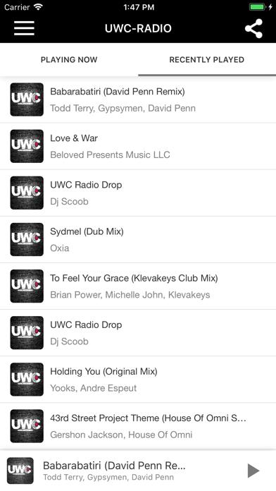 UWC-RADIO screenshot three