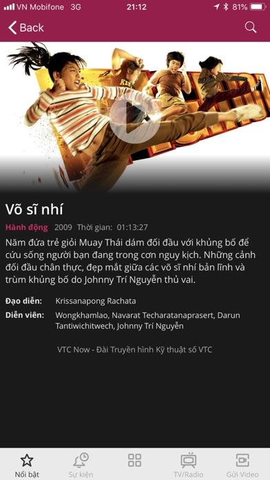 VTC NOW Screenshot on iOS
