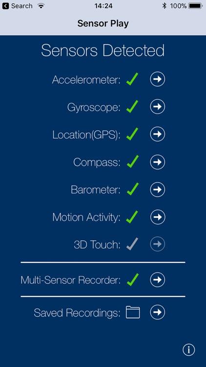 Sensor Play - Data Recorder screenshot-0